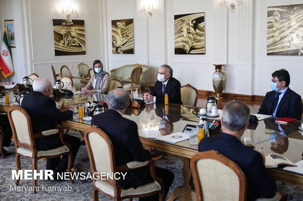 Zarif's meetings with Griffiths & Arnault