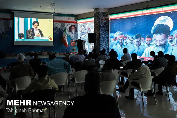 تماشای دومین مناظره انتخابات  ریاست جمهوری ۱۴۰۰