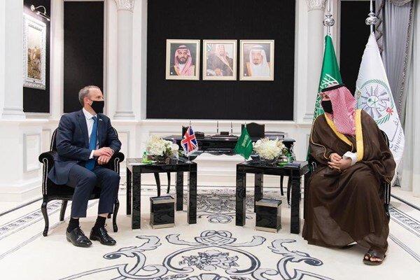 Raab, Saudi officials discuss regional issues, including Iran