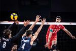 İran Milli Voleybol Takımı, ABD'yi devirdi