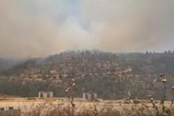 حريق كبير في القدس المحتلة