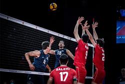 Iran volleyball team thrash United States in 2021 VNL Week 3