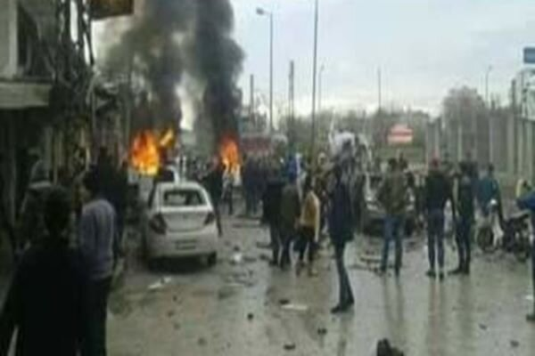 At least 8 Syrian civilians injured by hand-grenade explosion