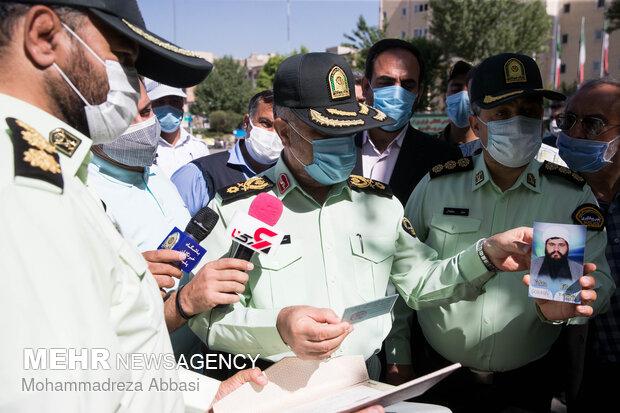 اجرای مرحله ۴۵ طرح رعد پلیس پیشگیری پایتخت