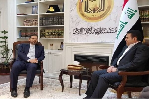 Iran FM spox holds meetings with Iraqi officials in Baghdad