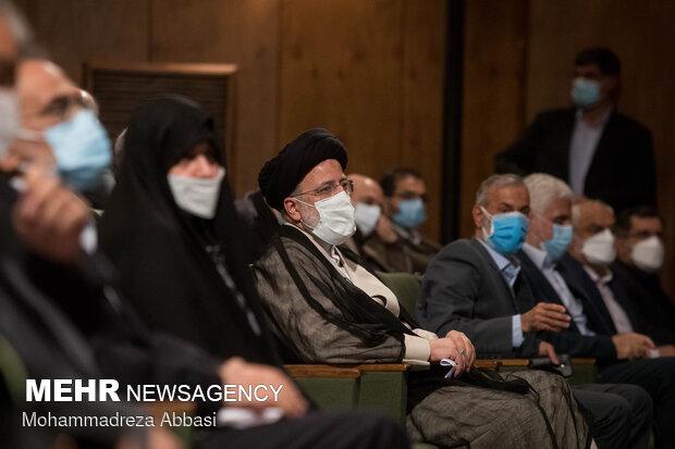نشست صمیمی سید ابراهیم رئیسی با اساتید و دانشجویان دانشگاه تهران
