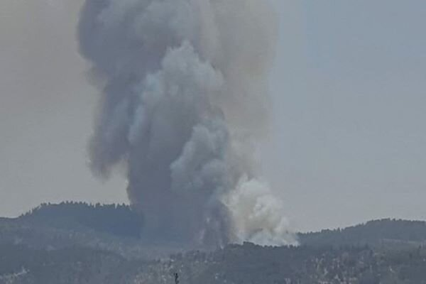 Large fire brakes out in occupied territories of Palestine