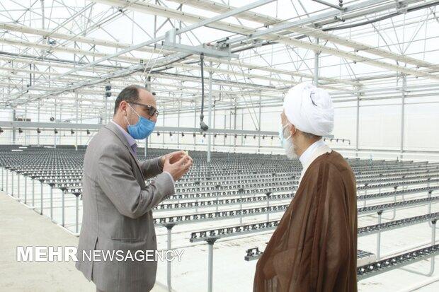 بازدید امام جمعه ساری از مرکز دشت ناز ساری