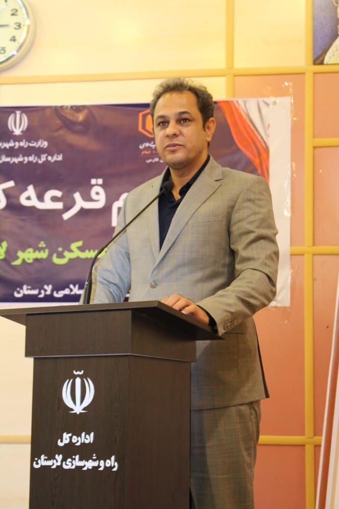 لارستان پیشروی طرح اقدام ملی مسکن در فارس
