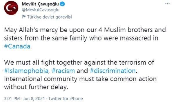 همه باهم در برابر «تروریسم اسلام هراسی» بایستیم