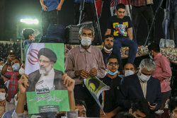 اہواز میں سید ابراہیم رئیسی کے حامیوں کا عظیم اجتماع