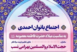 اجتماع بانوان احمدی در حرم مطهر شاهچراغ (س) برگزار میشود