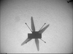Mars helicopter Ingenuity aces 7th flight on the Red Planet