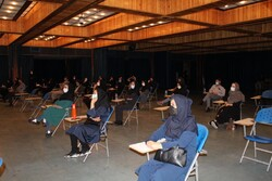 آزمون تعیین صلاحیت حرفه ای مشاوران دانشگاهی برگزار شد