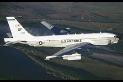 رهگیری هواپیمای جاسوسی آمریکا توسط جنگنده روسی