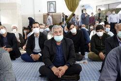 مدافع حرم شہید حسن عبداللہ زادہ کی یاد میں تقریب منعقد