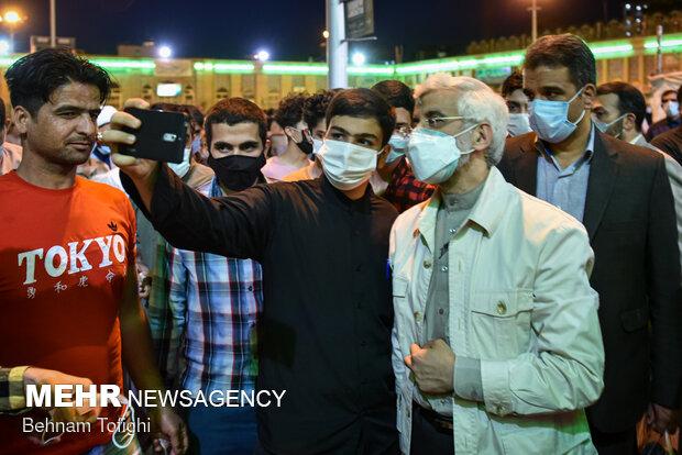دیدار سعید جلیلی با مردم شهرری