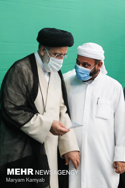 دیدار علمای اهل سنت با سید ابراهیم رئیسی