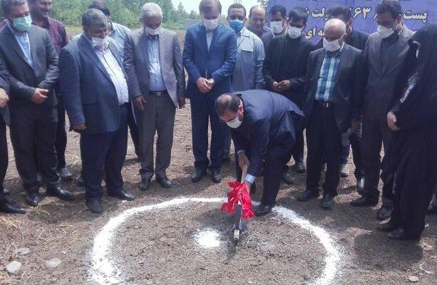 آغاز عملیات اجرایی احداث پست ضیابر در شهرستان صومعه سرا