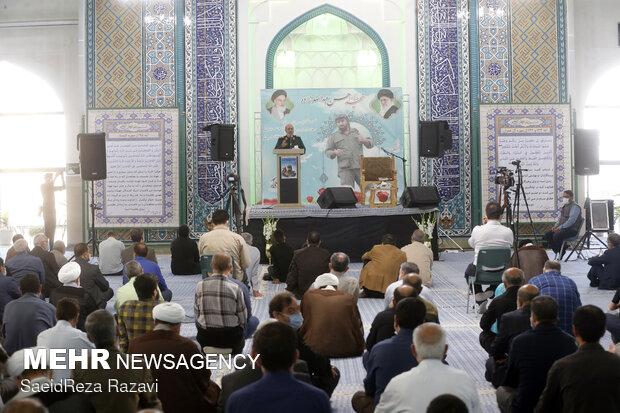 مراسم بزرگداشت شهید مدافع حرم حسن عبداللهزاده