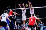 Germans beat Iranians at 2021 VNL
