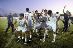 فینال مسابقات تیم ملی فوتبال ناشنوایان ایران و عراق در کیش