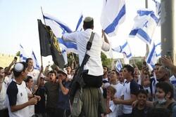 موافقت پلیس رژیم صهیونیستی با راهپیمایی تحریک آمیز «پرچمها»