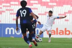 دیدار تیم ملی فوتبال ایران و کامبوج