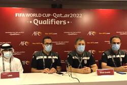 کار تیم ملی با بردن عراق تمام میشود/ از عملکرد بازیکنانم لذت بردم