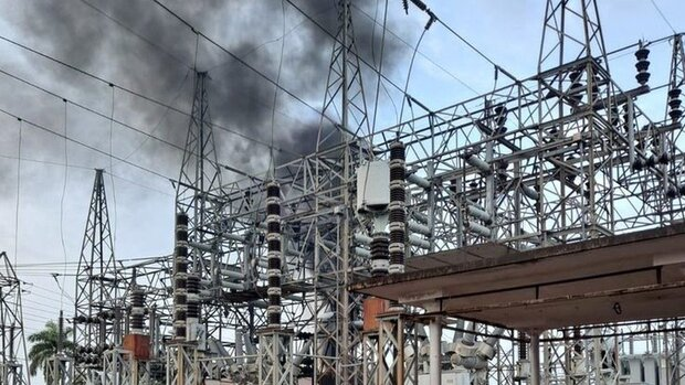 Power plant goes on fire in US territory of Puerto Rico