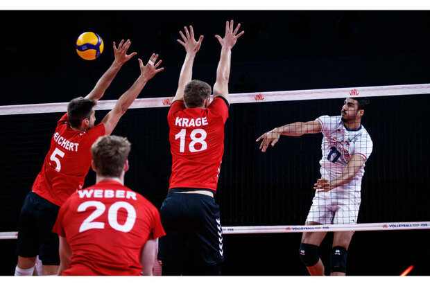 İran, FIVB Milletler Ligi'nde Almanya ile karşılaştı