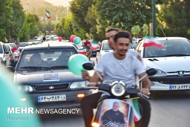 """کاروان خودرویی """"ملت امام حسین (ع) """" - همدان"""