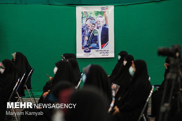 نشست سعید جلیلی با دختران رای اولی