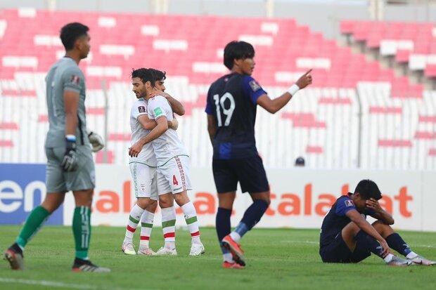 پاداش برد تیم ملی ایران مقابل کامبوج پرداخت شد