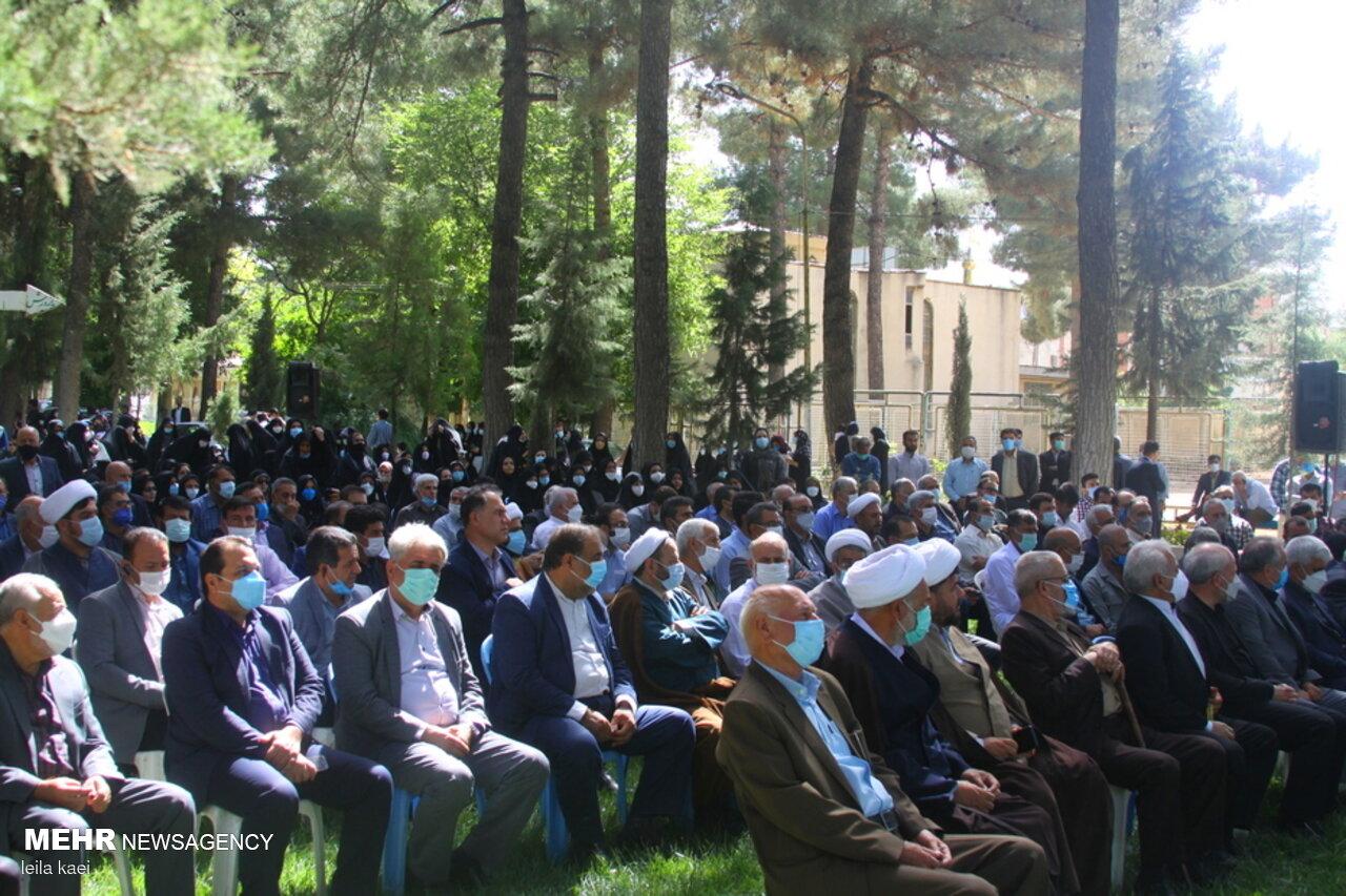 اجتماع حامیان سید ابراهیم رئیسی در ایلام