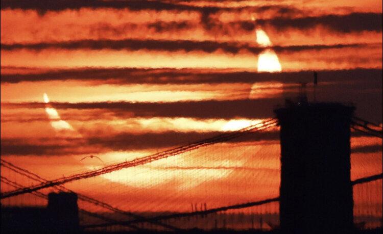 خورشید گرفتگی حلقه آتش در گرینلند رصد شد