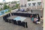 الهيئة النسائية الثقافية لأنصار الله تنظم وقفة وحملة تبرع لفلسطين