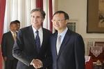 مسؤولون أميركيون صينيون يناقشون أهم القضايا العالمية منها ايران