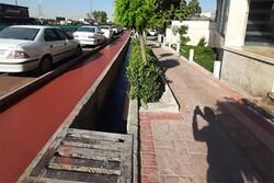 پیشرفت ۷۰ درصدی بهسازی پیاده روهای محور آزادی-دماوند