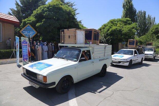۴۰۰ سری جهیزیه به نوعروسان گلستانی در دهه کرامت اهدا شد