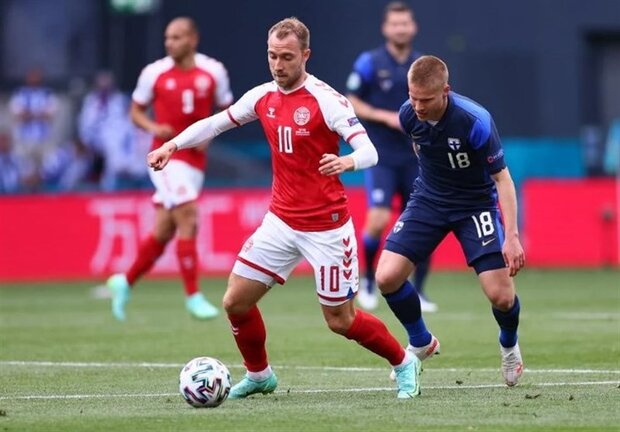 باخت دانمارک مقابل فنلاند با شوک بزرگ «اریکسن»