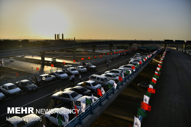 Gen. Soleimani intersection inaugurated in Isfahan