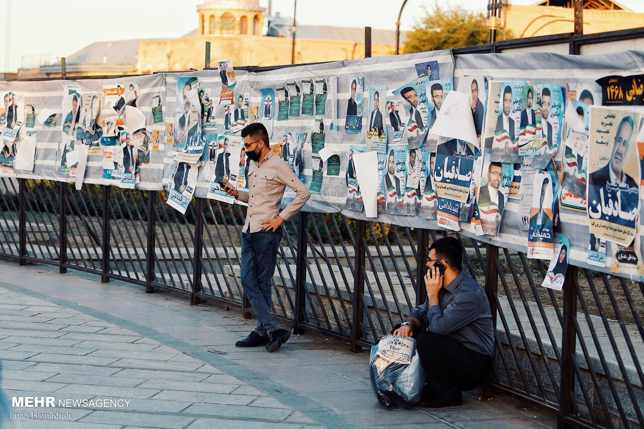 22 تیم نظارتی فعالیت های تبلیغاتی در شیراز را رصد می کنند