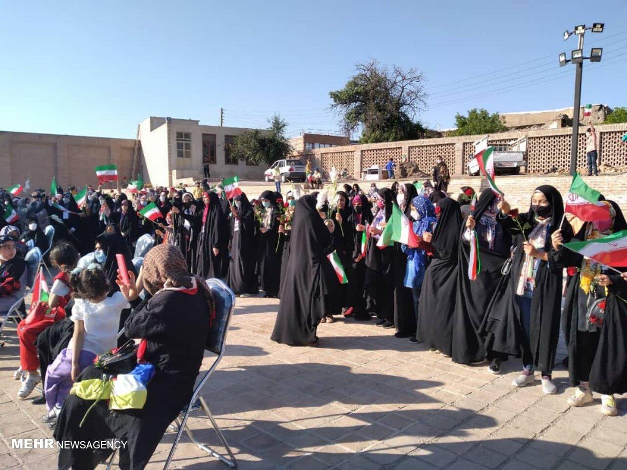 پویش حرف آورد در جشن سیاسی رأی اولیها در اردبیل برگزار شد