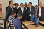 Iranian envoy visits Sana'a University