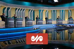جمع بندی نهایی نامزدها در مناظره سوم