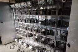 کشف و ضبط ۲۲ دستگاه استخراج رمز ارز غیرمجاز در خاوران