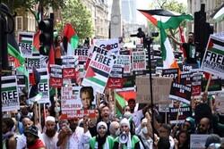 برگزاری تظاهرات حمایت از فلسطین/ انتقاد از عادی سازی روابط