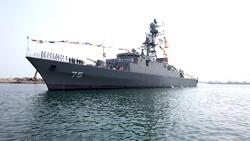VIDEO: Dena destroyer joins Iranian Navy