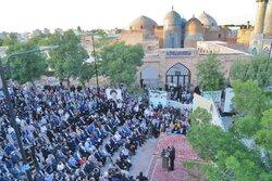 گردهمایی حامیان سید ابراهیم رئیسی در اردبیل